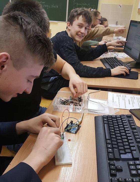 Informacinės technologijos padeda atskleisti mokinių gabumus